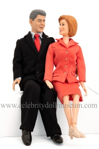 Bill and Hillary Clinton Toypresident Dolls