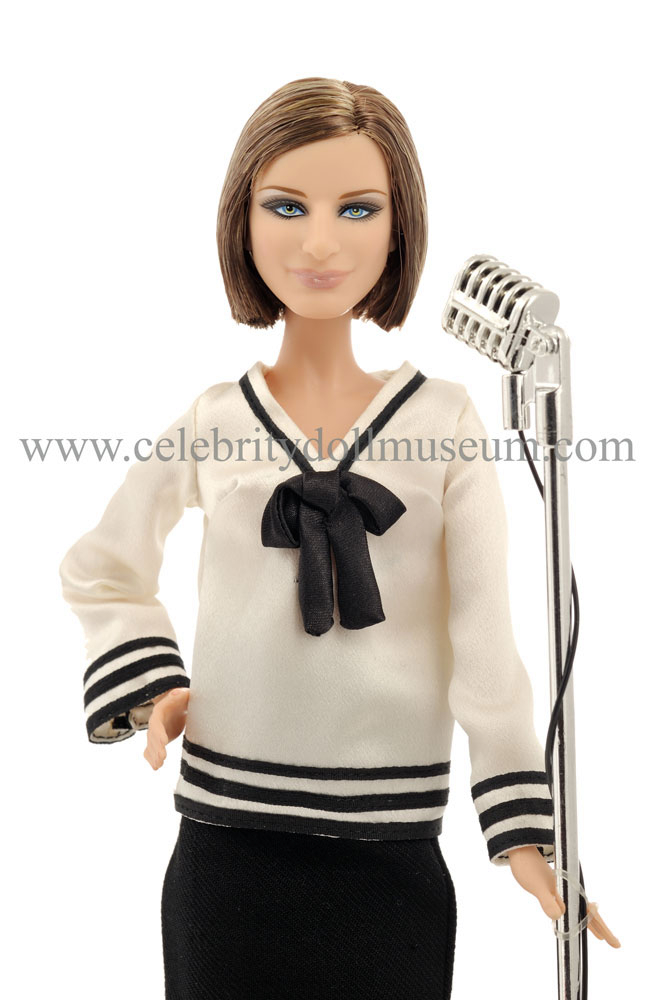 The Barbra Streisand celebrity doll portrays her as herself a singer