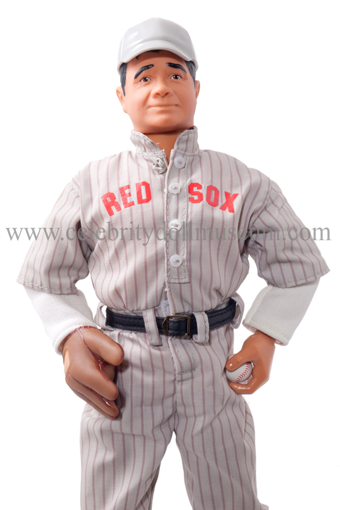 8405c3f38 The Babe Ruth celebrity doll is a Limited Edition Starting Lineup made by  Hasbro in 1996. It is part of the Cooperstown Collection.