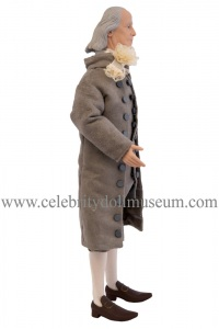 Benjamin Franklin talking doll