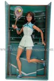 Billie Jean King doll box insert
