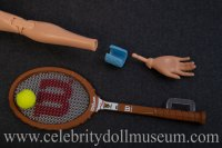 Billie Jean King doll accessories