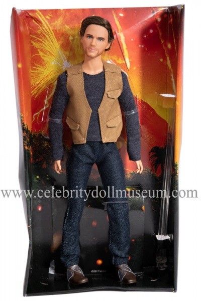 Chris Pratt (Jurassic World) action figure insert