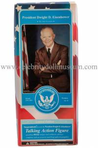 Dwight D Eisenhower Talking doll box front