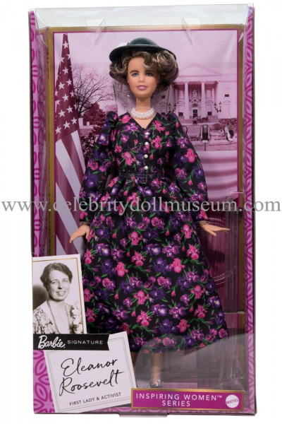 Eleanor Roosevelt doll box front