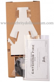 Elizabeth Banks doll box insert back