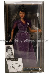 Ella Fitzgerald doll box
