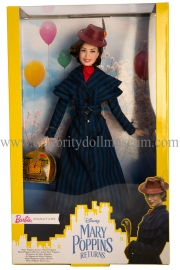 Emily Blunt doll box front