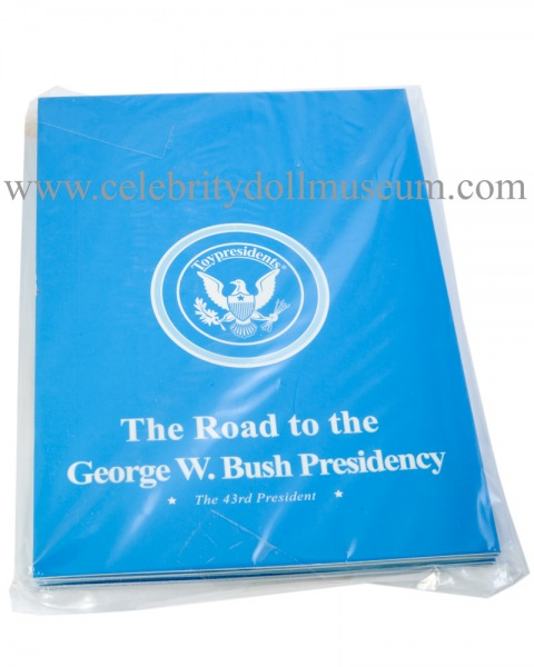 George W. Bush talking doll biographical pamphlet