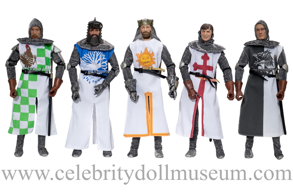 Monty Python and the Holy Grail dolls