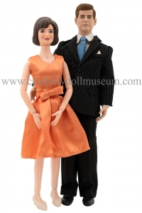 Jack Jackie Kennedy Toypresidents dolls