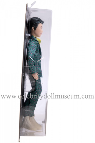 RM BTS doll box other side