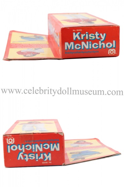Kristy McNichol doll box top and bottom