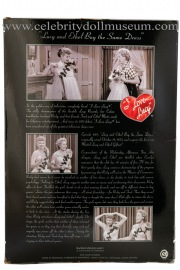 Lucille Ball and Vivian Vance doll set box back