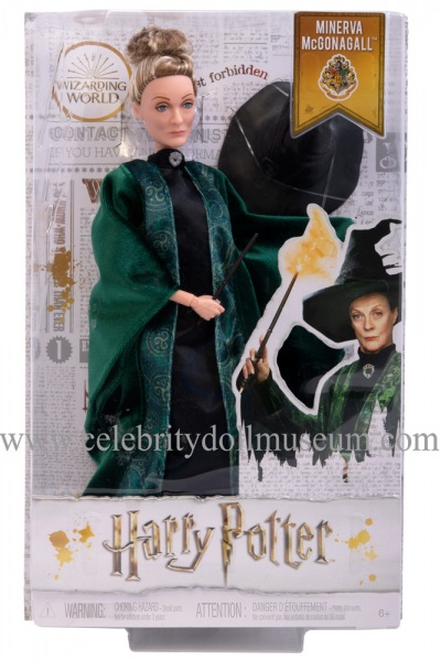 Maggie Smith doll box front