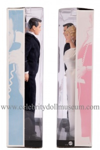 Doris Day and Rock Hudson dolls box sides