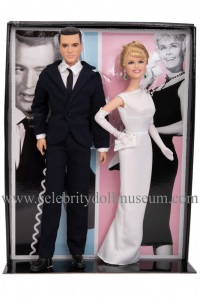 Doris Day and Rock Hudson dolls box insert