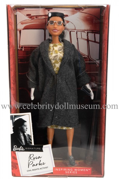 Rosa Parks doll box front