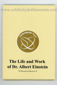 The cover of the Albert Einstein Yellow Book pamphlet