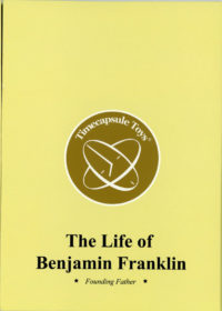 The Life of Benjamin Franklin - Founding Father booklet cover